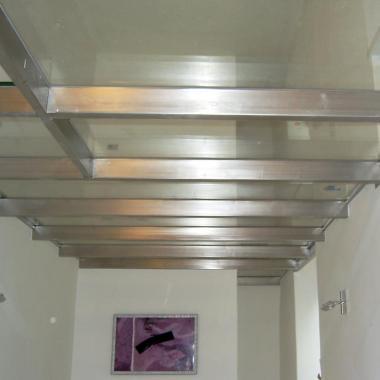 Soppalco acciaio inox