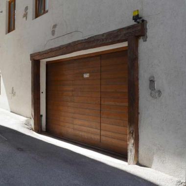 Portone garage scorrevole motorizzato