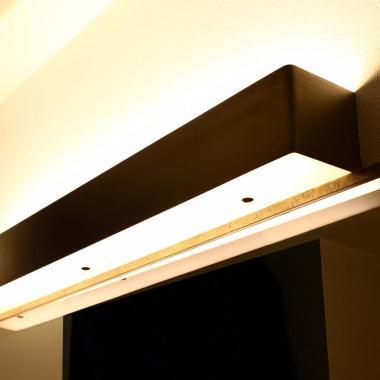 Luce a led da parete per specchio o parete in acciaio inox