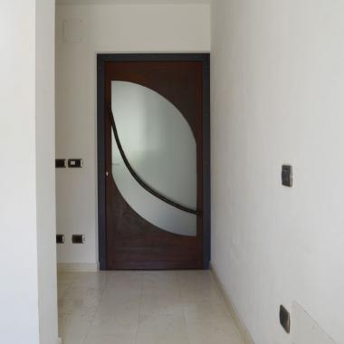 Porta d'ingresso Cor-Ten