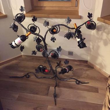 Portabottiglie albero Vite