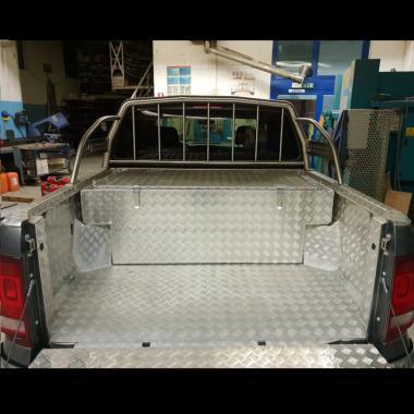 Vasca porta attrezzi Pick Up 750 x 750