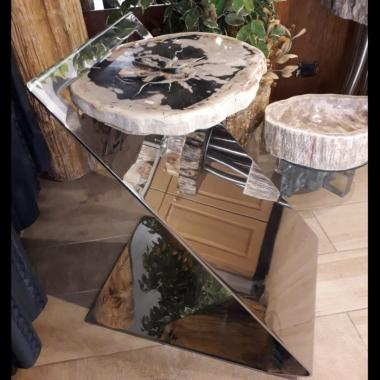 tavolo inox lucido 750 x 750